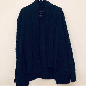 Talula Aritzia Knit Waterfall Open Sweater